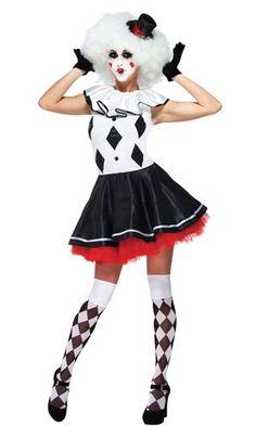 Harlequin Clown Adult Costume More