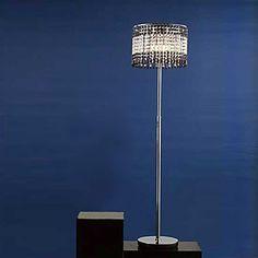 Modern G9 Crystal Floor Lamp – LightSuperDeal.com