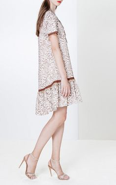 Animal Print Short Dress by Blugirl for Preorder on Moda Operandi