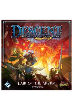 Descent Journeys in the Dark: Lair of the Wyrm Expansion - Epic Stratagems