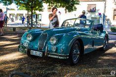 Jaguar Xk 140 aux 48h Automobiles de Troyes #MoteuràSouvenirs Reportage : http://newsdanciennes.com/2016/09/12/les-48h-automobiles-de-troyes-2016-cetaient-quatre-jours-de-bonheur/
