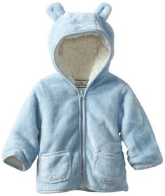 07ffd8e18 Widgeon Baby-Boys' Newborn Front Zip Jacket with Ears, Baby Blue, 3 Months.  Want a snuggly jacket with a simple design for your littlest one topped with  ...