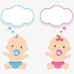 Clipart Baby, Baby Shawer, Baby Gender, Baby Clip Art, Baby Art, Vintage Baby Mädchen, Moldes Para Baby Shower, Imprimibles Baby Shower, Scrapbook Bebe