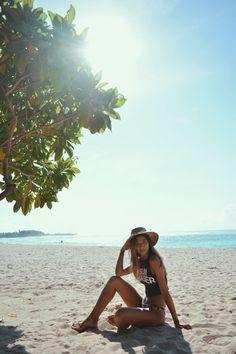 sun chaser :: sea seeker :: wave rider || Jess Megan in Billabong Women's staple swim