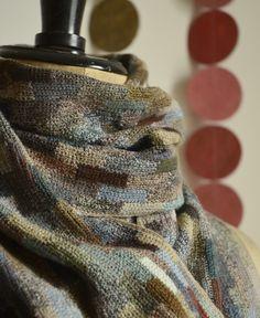 Sophie Digard / echape wool decalage (3763-MR/GNC) by Sophie Digard | petiteparis