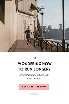 SHEEBES.COM | Wondering how you can train yourself to run longer? Or maybe run longer without getting tired? You'll find running tips that will help you run long distances, without getting injured or burned out. Marathon Tips, Half Marathon Training, Marathon Running, 5k Training Plan, Running Training, Training Tips, Running Tips Beginner, Jogging For Beginners, Marathon Motivation