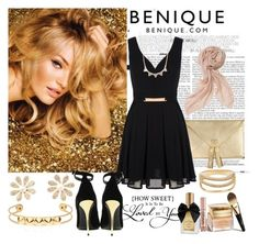 """benique.com"" by diva1 ❤ liked on Polyvore featuring Mela Loves London, Balmain, Christian Dior, Urban Decay and Stella & Dot"