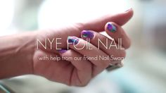 AMAZING DIY Foil Nail Art