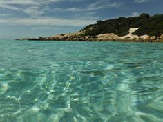 The crystal clear waters of Twilight Beach on a hot day!