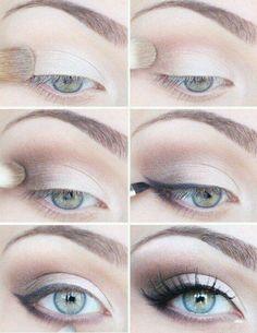 simple wing makeup