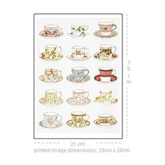 Tea and Breakfast Services, from The Silber and Fleming Glass and China Book © Victoria and Albert Museum/V&A Prints