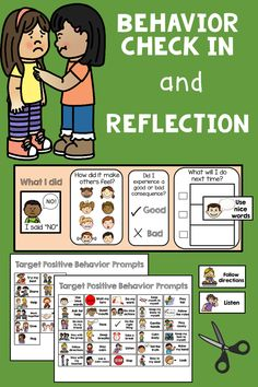 Behavior check in reflection for classroom management and positive behavior change. Encourage expected behaviors and appropriate replacement behaviors. Students recognizing inappropriate actions and behaviors. Social Skills For Kids, Teaching Social Skills, Social Emotional Learning, Social Work, Learning Skills, Positive Behavior Support, Behavior Change, Kids Behavior, Behavior Log
