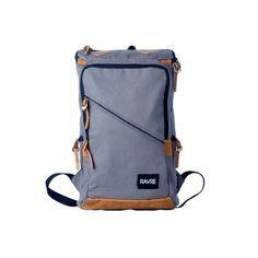 "Stylish canvas 14"" laptop computer backpack school travel waterproof macbook bag…"