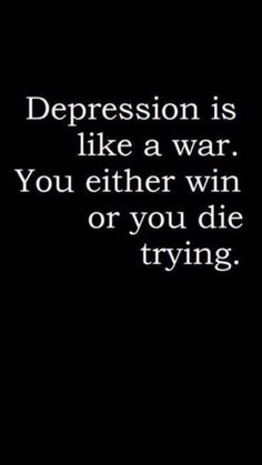 Dying is easier... You never have to feel this way again...