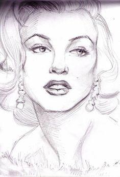 Marilyn Monroe by ~Kate--Rina on deviantART  || This image first pinned to Marilyn Monroe Art board, here: http://pinterest.com/fairbanksgrafix/marilyn-monroe-art/ ||