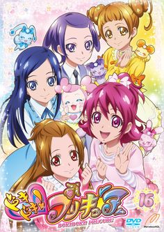 Doki Doki! Precure DVD vol.16 (the last volume) jacket Illustration: TAKAHASHI Akira