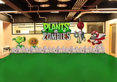 Plants vs Zombies decoration
