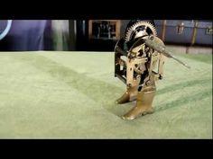 Lady Boots Automaton - YouTube