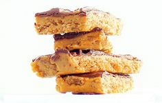healthy butterfinger bars love this #healthy #dessert #recipes