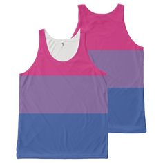 Bisexual Pride All-Over Print Tank Top from #Ricaso