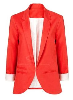 Red Blazers for Women - Charming Red Blazers for Women www.loveitsomuch.com