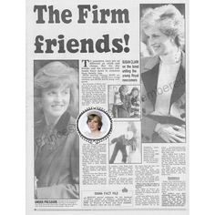 """Article from a 1991 edition of the Sunday Mercury newspaper, telling of Princess Diana's friendship with Sarah, Duchess of York.  المقال من طبعة عام 1991 لصحيفة ساندي وكانت تتكلم عن صداقة الأميرة ديانا مع سارة، دوقة يورك."" Photo taken by @legend_diana on Instagram, pinned via the InstaPin iOS App! http://www.instapinapp.com (03/07/2015)"
