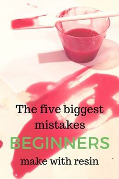 Mistakes beginners make with resin - Modellbau - Tipps & Tricks (Tips and Tricks - Modell building) - Epoxy Ideas Art Resin, Acrylic Resin, Acrylic Pouring, Diy Resin Painting, Resin Artwork, Resin Paintings, Resin Pour, Resin Molds, Diy Resin Mold