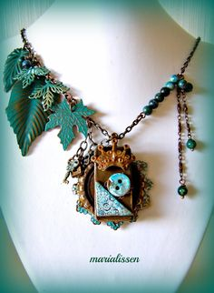 Collier Créateur Steampunk or Not Steampunk ? That's The Question ! : Collier par marialissen