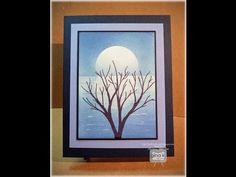 Blue Mooonrise Card - YouTube