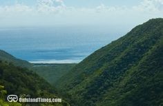 The view into the Virgin Islands National Park and the hike down to Reef Bay. More info? Visit http://onislandtimes.com/hiking/