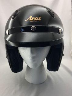 72503f12 Arai Helmet Snell Classic M Open Face Motorcycle Helmet Black Size XL 1XL  XLarge | eBay