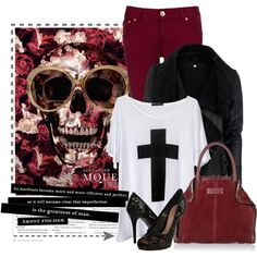 Cool look.   Polyvore