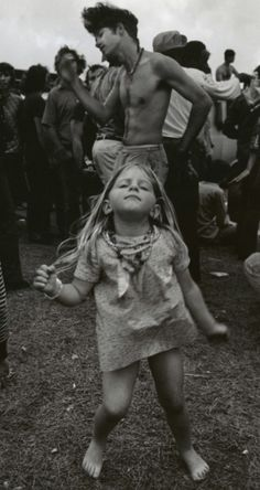 Woodstock. That girl had awesome parents. I know this was me in my other life!!! Blonde haired bared footed hippy kid!!!!
