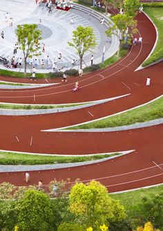 Gallery - Zhangmiao Exercise Park / Archi-Union Architects - 3