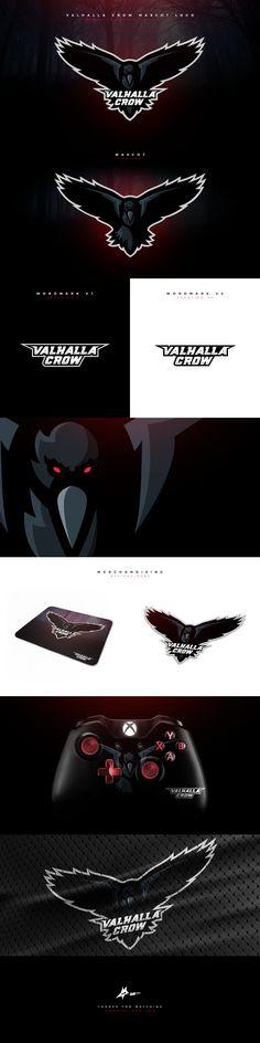 "Check out my @Behance project: ""Valhalla Crow Mascot Logo."" https://www.behance.net/gallery/48454385/Valhalla-Crow-Mascot-Logo #mascot #logo #esports #sports #branding #brand #raven #gaming #mascotlogo"