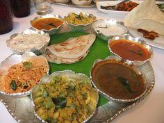 Sea Food Thali at Hotel Accord, Chennai.