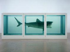 Damien Hirst - Tiburon en formol en el TATE MODERN Londres