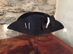 7d9bbb44995 Revolutionary War British Army Campaign Style Cocked Hat (May be  reproduction) Army Clothes