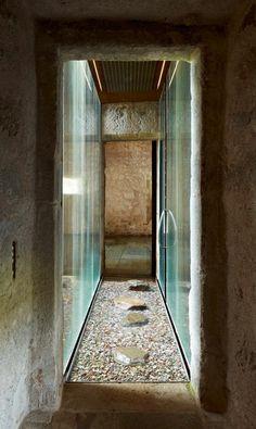 Mas del Vents RCR Arquitectes Minimalist Architecture, Architecture Details, Interior Architecture, Interior And Exterior, Spa Design, Modern Design, Water House, Interior Decorating, Interior Design
