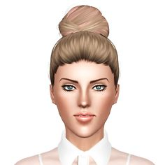 Geisha`s Genesis hairstyle retextured by July Kapo