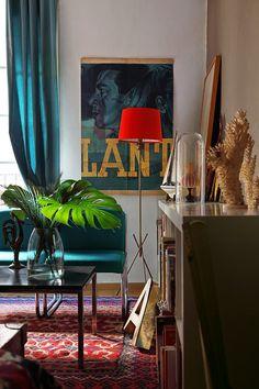VM designblogg: Retro Διαμέρισμα στη Βαρκελώνη