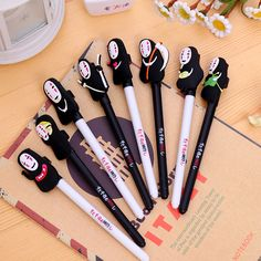 Audacious 0.5mm Cute Kawaii Fruit Doll Head Gel Pen Signature Pens Escolar Papelaria For Office School Writing Supplies Stationery Gift Bringing More Convenience To The People In Their Daily Life Office & School Supplies Pens, Pencils & Writing Supplies