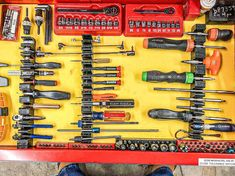 Our Screwdriver Widgets hold a lot more than just that, check this customers toolbox out.  www.toolboxwidget.com 🔧🔧🔧🔧🔧🔧🔧🔧🔧🔧🔧🔧🔧🔧🔧🔧🔧🔧🔧🔧🔧🔧🔧🔧🔧🔧🔧🔧 #toolboxwidget #toolbox #toolboxporn #tool #toolsofthetrade #toolorganization #toolstorage #tooltime #mechanic #aircraftmechanic #aircraft #diesel #dieseltrucks #femalemechanic #automobile #automotive #autoshop #marinemechanic #veteranowned #snapon #matco #mactools #gearwrench #cars #trucks #engineer #technician #ratchets… Tool Organization, Tool Storage, Woman Mechanic, Car Shop, Diesel Trucks, Toolbox, Engineer, Automobile, Aircraft