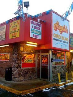 Angelo's Coney Island - Flint, Michigan.