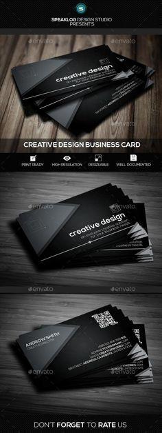 Creative Business Card Design  #template #creative #business