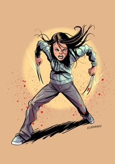 X-23 by Johnny-Lighthands.deviantart.com on @DeviantArt