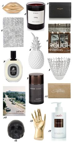 My non-cheesy Valentine's Day gift ideas for her featuring Kelly Wearstler, Saint Laurent, Byredo, Topshop and a lot more. More on: www.thedashingrider.com