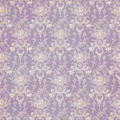 Graphic 45 - Secret Garden Collection - 12 x 12 Double Sided Paper - Sun Kissed Purple Wallpaper, Purple Backgrounds, Wallpaper Backgrounds, Vintage Backgrounds, Damask Wallpaper, Wallpapers, Graphic 45, Decoupage, Background Vintage