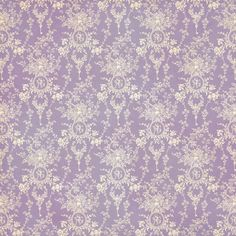Graphic 45 - Secret Garden Collection - 12 x 12 Double Sided Paper - Sun Kissed Purple Wallpaper, Purple Backgrounds, Wallpaper Backgrounds, Damask Wallpaper, Wallpapers, Graphic 45, Decoupage, Background Vintage, Background Patterns