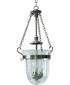 Progress Lighting Essex Collection Antique Nickel Foyer Pendant with Clear Glass - The Home Depot Foyer Pendant Lighting, Entryway Lighting, Pendant Light Fixtures, Ceiling Fixtures, Interior Lighting, Kitchen Lighting, Lighting Ideas, Pendant Lights, Murano Chandelier